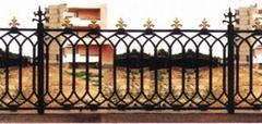 寧夏鑄鐵圍牆