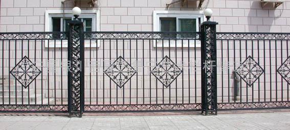 大门围栏效果图