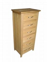 6-drawer higher cabinet