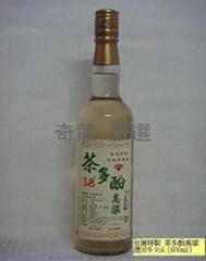 奇龙茗酒茶多酚高粱  38度 600cc