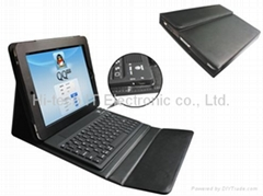 Ipad case with Bluetooth keyboard and usb cable