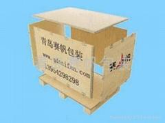 可拆装免熏蒸包装箱
