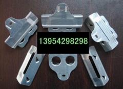 76mm镀锌包边钢带+舌型锁扣