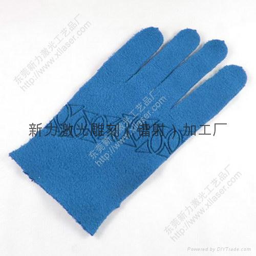布標、皮標、服飾輔料激光鐳射雕刻加工 2