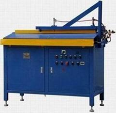 Tube feeding and testing machine for tubular heater/heating elements/heater