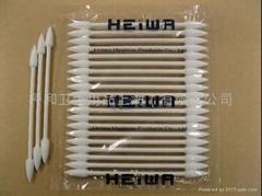 HEIWA普通轴尖头棉棒25本-4E-工业用净化棉签
