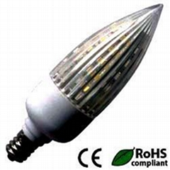 Sunlp SC30 1.5W SMD LED Bulb, Candle