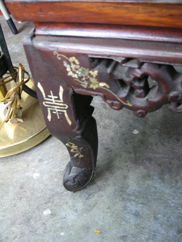 ... Chinese ROSEWOOD Furniture - DRAGON SOFA COFFEE TABLE U0026 CHAIR ...