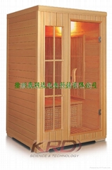 sauna room for 2 person