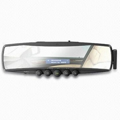 bluetooth rearview mirror