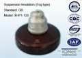Fog Type Suspension Porcelain Insulator