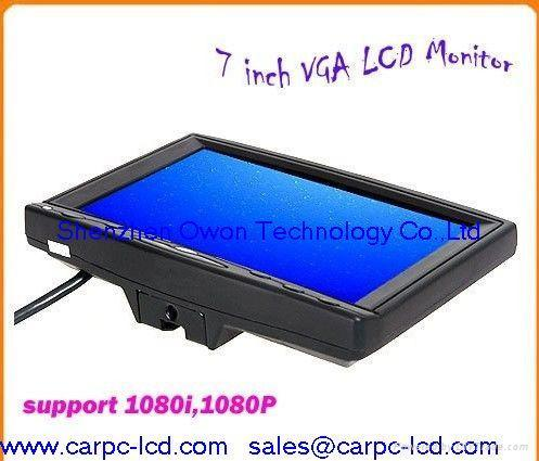7 Inch Touch Screen HDMI LCD Monitor VGA AV DVI YPBPR INTPUT