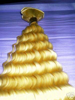 machine weft hair 1