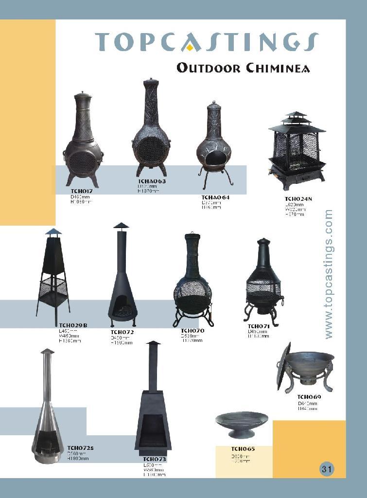 Outdoor Chiminea TOPCASTINGS China Trading Company