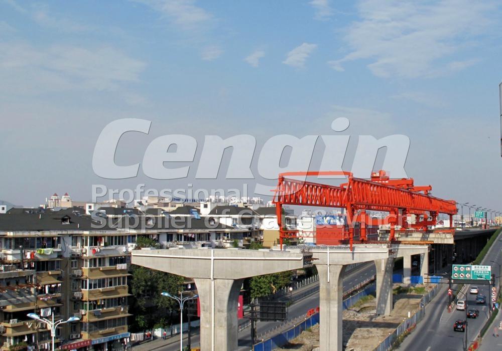 Road Construction Launching Crane 2
