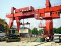 Gantry Crane Lifting Operation for