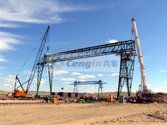 Gantry Crane for Precast Element Field 2