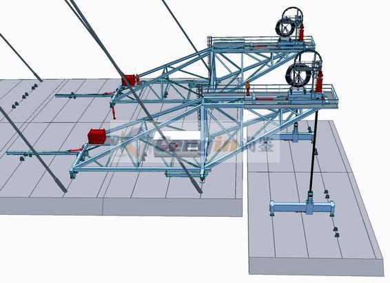 Cantilever Precast Segments Launching Crane 4