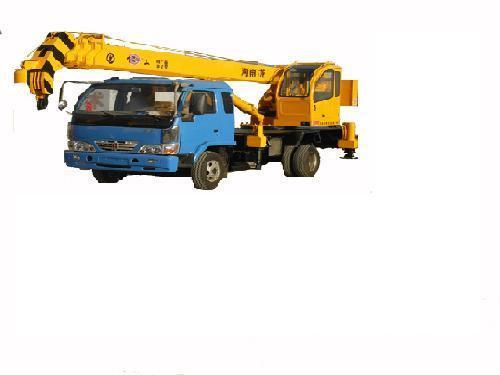 汽车吊车 - yq-8 - 金杯飞工 (中国) - 液压机械及图片