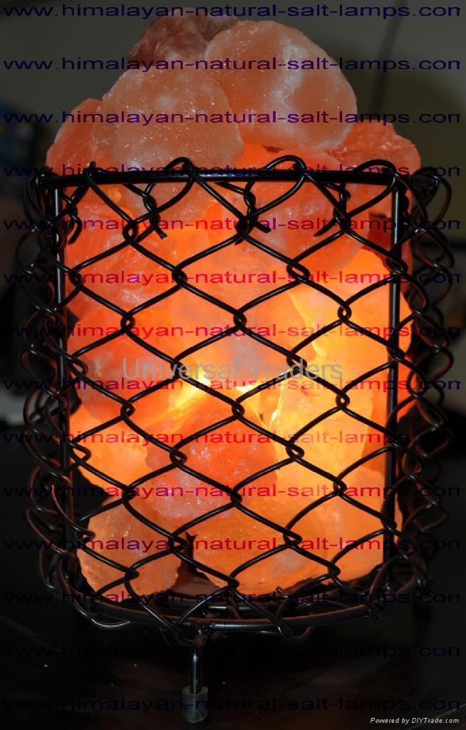 Basket Salt Lamp 1