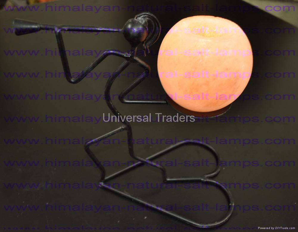 Basket Salt Lamp 5