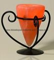 Wrought Iron Salt Candle holder & tea