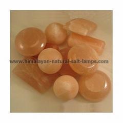 NATURAL SALT MASSAGE STONES