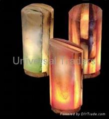 NATURAL ONYX LAMPS
