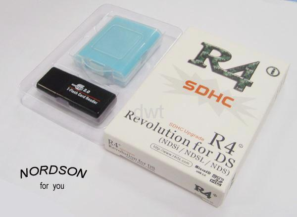 R4i SDHC SLOT 1 flash cards for NDS DSlite Dsi 1