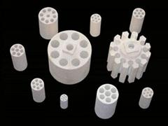 multi-hole MgO tube