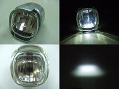 Mini size LED Bike front light German K-Mark Approved