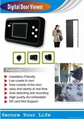 Digital Door Peephole Viewer & recorder