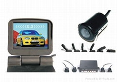"3.5"" TFT Monitor for visible system with parking sensor"