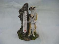 树脂猫鼬温度计
