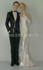 樹脂婚禮擺飾
