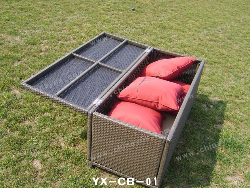 Cushion Box Storage Box Outdoor Furniture 1