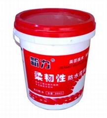 提供新力牌柔韌性防水材料