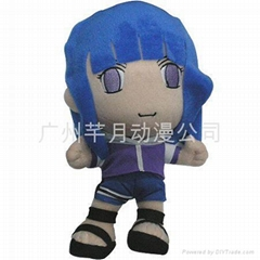 Naruto Hyuga Hinata plush doll and other plush dolls