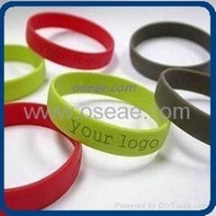 Fashion Rubber Silicone Bracelet