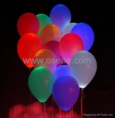 LED Multi-Color Latex Balloon Light for Wedding, Party,  Birthday, Christmas