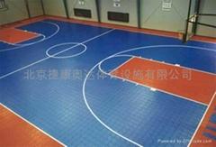 塑格籃球地板