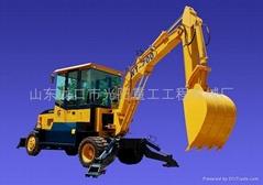 供应WT-700型180°半回转小型挖掘机
