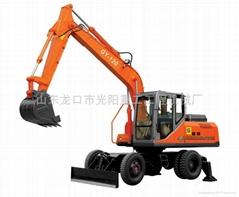供应GY-120型中型挖掘机