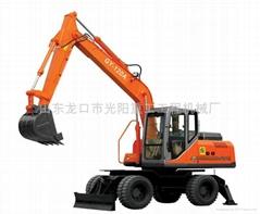 供应GY-120A型轮胎挖掘机