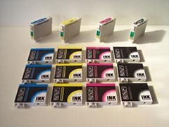 A+B ink cartridges for Epson73N,T0711-T0714(NEW)