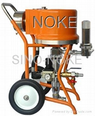 NK-WJ46 air-driven type airless paint sprayer adopting air-direction-change