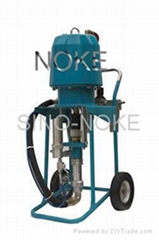 NK-WP73 air-driven type airless paint sprayer adopting mechanism-direction-chang