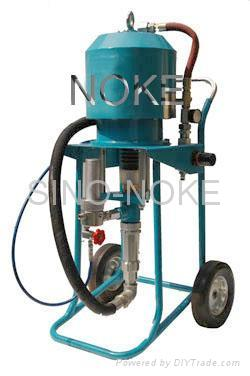 NK-WP65A air-driven type airless paint sprayer adopting mechanism-direction-chan