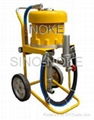 NK-WP65C air-driven type airless paint sprayer adopting mechanism-direction-chan