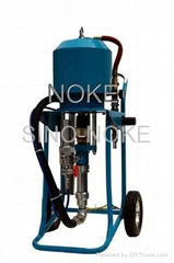 WP63C air-driven type airless paint sprayer adopting mechanism-direction-change